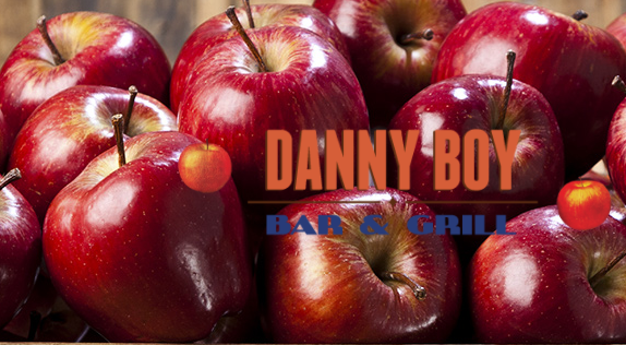 The Danny Boy with apples